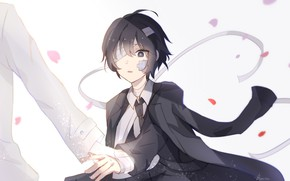 Picture surprise, anime, boy, art, the patch, Bungou Stray Dogs