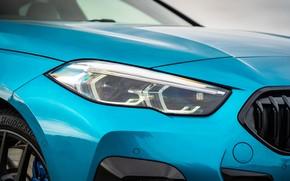 Picture headlight, BMW, Gran Coupe, UK-spec, 2-Series, M Sport, 2020, 218i, F44