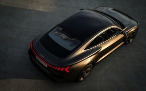 Picture Audi, coupe, body, 2018, e-tron GT Concept, the four-door