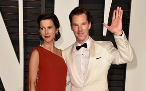 Picture Benedict Cumberbatch, Benedict Cumberbatch, wife, Sophie Hunter, Sophie Hunter