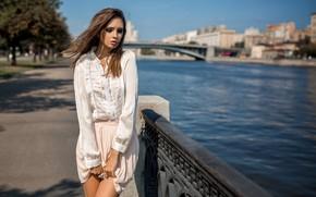 Picture water, skirt, Girl, legs, Disha Shemetova, Katherine Monich