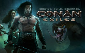 Picture Background, Man, Snakes, Conan Exiles