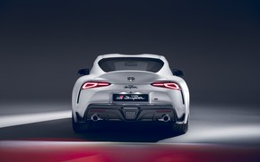 Picture rear view, Supra, 2020, GR Above, A90, 2.0L, Тоyota