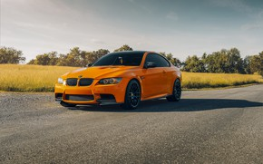 Picture design, color, BMW, car, the front, E92 M3