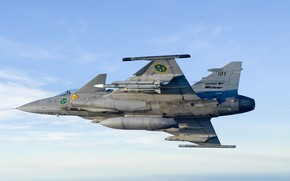 Picture Gripen, JAS 39, You CAN, Swedish air force, Gripen JAS 39, PTB, MBDA Meteor