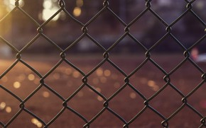 Picture photo, mesh, bokeh, the fence macro