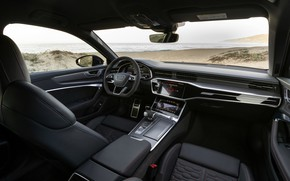 Picture Audi, universal, RS 6, in the cabin, 2020, 2019, V8 Twin-Turbo, RS6 Avant