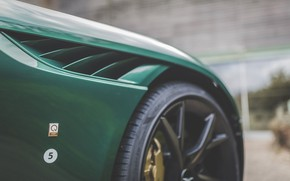 Picture Aston Martin, Wing, Air intake, Label, 2019, DBS 59