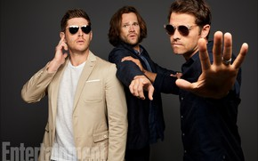 Picture the series, Dean, Supernatural, Supernatural, Sam, Castiel