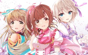 Picture girls, group, idols, Idolm@ster