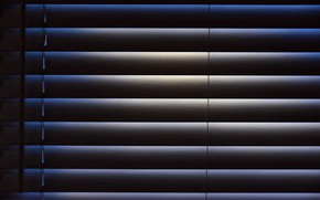 Picture light, shadow, window, blinds