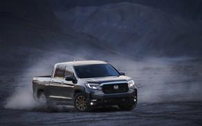 Picture dust, Honda, pickup, 2020, Ridgeline, 2021, double cab