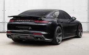 Picture Porsche, Panamera, rear view, Turbo, 2018, Ball Wed, GT Edition
