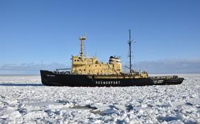 Picture icebreaker, North, Semyon Dezhnev