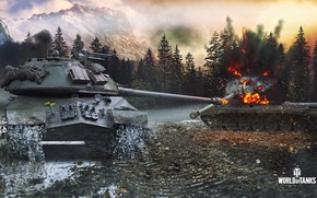 Picture tanks, World of Tanks, mode, Steel Hunter