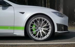 Picture wheel, Tesla, Mansory, Model S, 2016