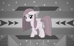 Picture background, pony, My Little Pony, gray