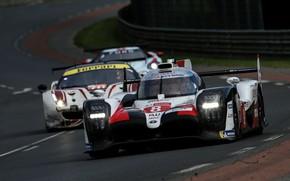 Picture track, Ford, Ferrari, Toyota, WEC, 2019, TS050 Hybrid