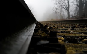 Picture macro, background, railroad