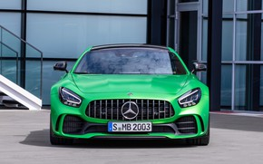 Picture Mercedes-Benz, front view, AMG, GT R, 2019