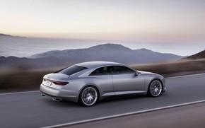 Picture Concept, asphalt, Audi, coupe, speed, Coupe, 2014, Prologue