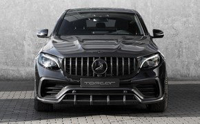 Picture Mercedes-Benz, front view, AMG, Inferno, 2018, Ball Wed, GLC 63