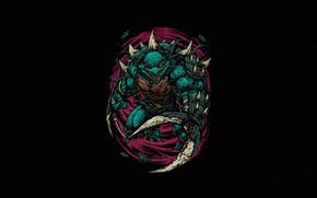 Picture Minimalism, Style, Background, Teenage mutant ninja turtles, Art, Art, Style, TMNT, Teenage Mutant Ninja Turtles, …