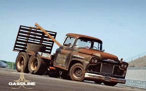 Picture Chevrolet, Truck, Rat Rod, Tow Truck