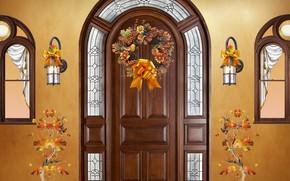 Picture autumn, decoration, Seasson, autumn ornaments