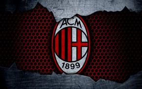 Picture wallpaper, sport, logo, football, Milan