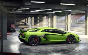 Picture Lamborghini, supercar, 2018, Aventador, SVJ, racing Boxing, Aventador SVJ, The CONDOMINIUM 63