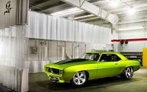 Picture Classic, Chevrolet Camaro, Muscle car, American sports car