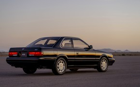 Picture coupe, Infiniti, side, 1990, two-door, Nissan Leopard, M30