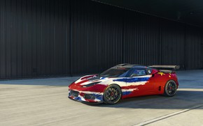 Picture Lotus, Evora, the wall, 2019, GT4 Concept