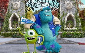 Picture monsters, Monsters University, Monsters University