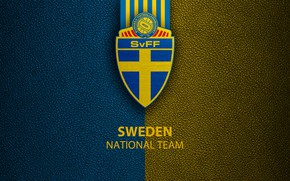 Picture wallpaper, sport, logo, Sweden, football, National team