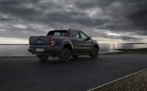 Picture Ford, pickup, Ranger, Thunder, on the road, 2020