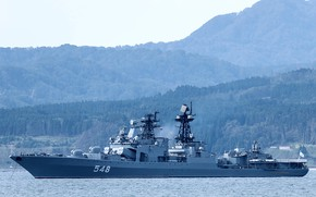 Picture ship, large, anti-submarine, project 1155, Admiral Panteleyev