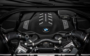 Picture engine, black, coupe, BMW, Gran Coupe, 2020, 8-Series, 2019, the four-door coupe, M850i xDrive, Eight, …
