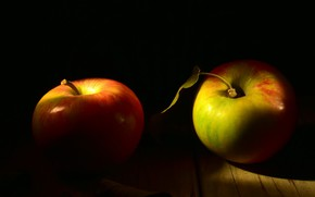 Picture apples, food, fruit