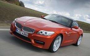 Picture field, BMW, Roadster, roadside, 2013, E89, BMW Z4, Z4, sDrive35is