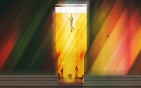 Picture Figure, Beer, Alcohol, Art, Art, Alcohol, Bakal, Daniel Simmonds, by Daniel Simmonds, Don't Sink, Dependence