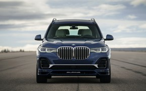 Picture BMW, front, crossover, SUV, Alpina, 2020, BMW X7, X7, G07, XB7