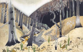 Picture 1917, Early Spring, Charles Ephraim Burchfield