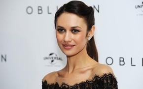 Picture look, model, portrait, makeup, actress, brunette, hairstyle, Olga Kurylenko, Olga Kurylenko, photoshoot, hair