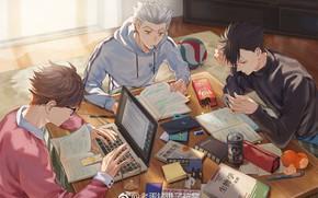 Picture Haikyuu, Tooru Oikawa, Koutarou Bokuto, Tetsurō Kuroo