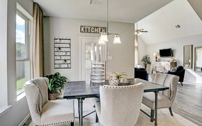 Picture design, interior, living room, dining room