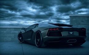 Picture Lamborghini, sportcar, Lamborghini Aventador