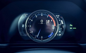 Picture Lexus, speedometer, dashboard, LC 500, 2019, Inspiration Series