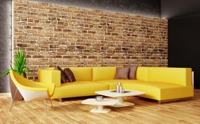 Picture design, sofa, chair, pillow, design, modern, living room, modern